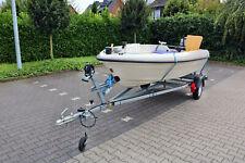Motorboot Terhi 4100 mit 30 PS Außenborder und Trailer