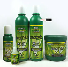 BOE Crece Pelo Shampoo&Rinse&Treatment&Leave-In& Ampolla Hair Growth-Exp.04/2019