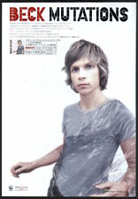 1998 Beck photo Mutations Japan album promo press ad / mini poster advert b12r