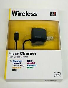 Just Wireless - home charger high-speed charge 5 ft cord~1 AMP
