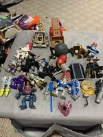 Imaginext Figures Knights Accessories Lot of 10 Plus Extras