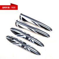 ABS 4pcs Front/Rear Door Handle Cover Caps For Bmw Mini Cooper Clubman R55 BJ