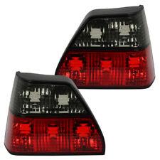 Rückleuchten Heckleuchten Klarglas VW Golf 2 Bj. 83-92 Rot/Schwarz