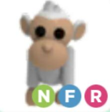 Roblox - Adopt me - Legendary Fly Ride Neon Albino Monkey