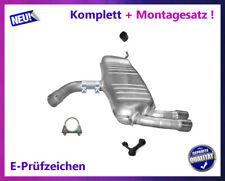 Endschalldämpfer VW Golf V 5 2.0 GTI 147/169KW Auspuff Endtopf Chrom Montagesatz