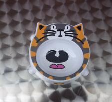 Camon Cat Face Plastic Non Slip Cat Kitten Pet Animal Food Feeding Bowl Dish New