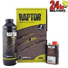 U-pol Raptor 1 x 750ml Tough Urethene Coating Liner Kit 1 x 250ml Hardener