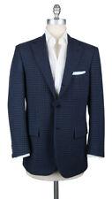 New $7500 Kiton Navy Blue Cashmere Sportcoat - 38/48 - (UGB321H3106R8)