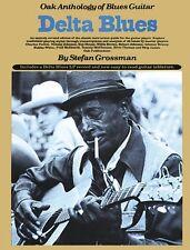 Delta Blues Sheet Music Oak Anthology of Blues Guitar Book NEW 014008584