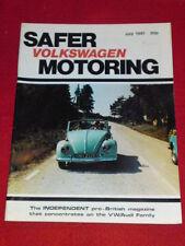VW - SAFER MOTORING - July 1981