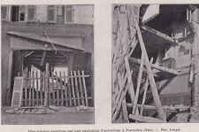1905  --  UNE MAISON EVENTREE PAR UNE EXPLOSION ACETYLENE A PIEEREFEU  VAR 3B827