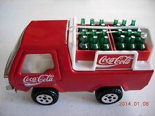 Coca Cola Toy Truck Delivery Buddy Pressed Steel/Plastic Bottles Case Van