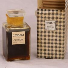Cobalt Chinon 2 oz perfume extract mini rare bottle