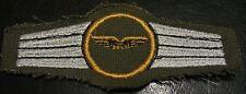 (No1661) German Bundeswehr QUALIFICATION BADGE LUFTWAFFE AIR FORCE STAFF GOLD