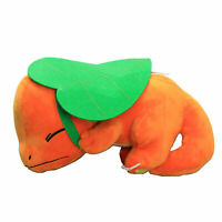 Pokemon Sleeping Charmander Plush with Leaf Stuffed Animal Toy  11'' Figure Gift
