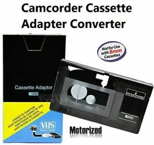 VHS to VHSC Tape Converter Play VHS-C Tapes VHS  Cassette Motorized Adapter,