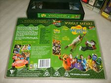*THE WIGGLES : WIGGLY SAFARI* ABC For Kids Original Wiggles & Steve Irwin on VHS