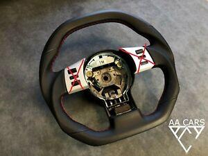 Steering Wheel Nissan 350 Z Flat Bottom Sport New Leather