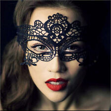 Black Stunning Venetian Masquerade Eye Mask Halloween Party Fancy Dress Lace