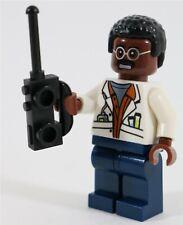 LEGO JURASSIC PARK RAY ARNOLD MINIFIGURE INGEN - MADE OF GENUINE LEGO PARTS