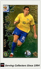 #55 Kaka Star Metalized 2010 Panini World Cup Soccer Trading Card