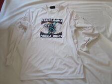 Preowned Men's Unisex Wilson Perfomance Paddle Camps Shirts Size M & L Hyper-Tek
