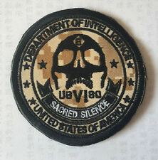 United States OF AMERICA DEPARTMENT OF INTELLIGENCE EMBROIDERED HOOK PATCH A1034