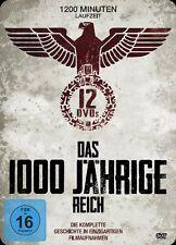 DAS 1000 JÄHRIGE REICH Schutzstaffel SS LEIBSTANDARTE Hitlerjugend KRIEG DVD Box