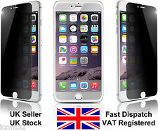 """Apple iPhone 6 (4.7"""") tempered glass privacy anti spy screen protector"""