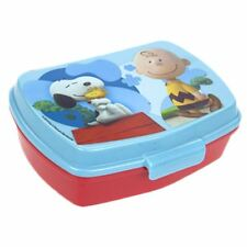 Official Peanuts Snoopy and Charlie Brown Sandwich Lunch Box