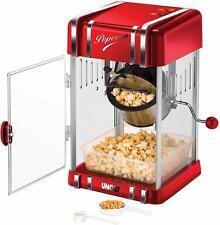 Unold® 48535 Popcornmaker Retro Macchina Pop Corn come al cinema acciaio INOX