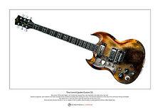 Tony Iommi's Jaydee Old Boy Limited Edition Fine Art Print A3 Size