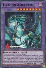 ♦Yu-Gi-Oh!♦ Dragon Amulette (Magicien Sombre) : LEDD-FRA35 -VF/Commune-