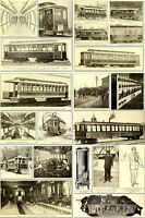 THE STREET & ELECTRIC RAILWAY JOURNAL - 52 OLD RARE VOLUMES (1884-1921) ON 2 DVD