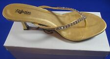 NEW Reflections by Saugus Shoe Gold 360B Size 12