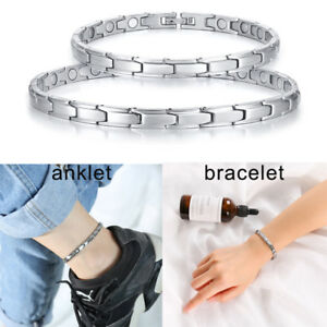 Fashion Women Health Magnetic Therapy Bracelet Healing Ankle Anklet Jewelry Sets