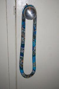 Hermes Petit h Silk Accordion Necklace