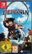 Deponia-Nintendo switch-germano-nuevo/en el embalaje original