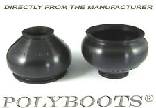 2x Polyboots Ball Joint Dust Boots 21x42x38mm Suspension Replacement Rubber Boot