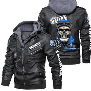 Yamaha Racing - Leather jacket, best gift, new jacket-HALLOWEEN- SO COOL