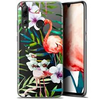 "Coque Pour Huawei P Smart+ / Plus 2019 (6.2"") Extra Fine Watercolor Tropical Fla"