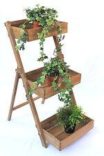 Herbs Shelf fiora-1 Wooden 90 cm Flower Step Plants Staircase Flower Stand