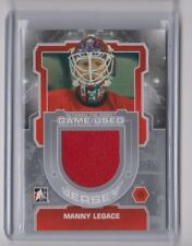12-13 2012-13 Between The Pipes Jerseys Silver #M39 Manny Legace Detroit ITG