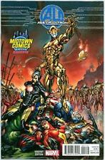 AGE OF ULTRON #1 J SCOTT CAMPBELL MIDTOWN NYC RETAIL VARIANT NM MARVEL (MOVIE)