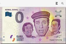 0 Euro - Kemal Sunal - Euro Scheine - TUAS - Turkiye - Kemal Sunal