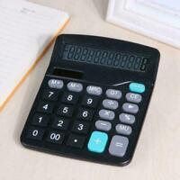 1 * Solar Battery Desktop Calculator Grundlegende 12-stellige Büromateriali