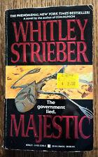 Whitley Strieber pb Majestic contemporary fiction Berkley 1990 Ufo's Roswell