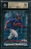 BGS 10 RONALD ACUNA JR. 2017 Bowman Chrome Mega Box Refractor Rookie RC PRISTINE