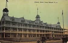 NJ - 1911 Atlantic Hotel in Long Branch, New Jersey Shore - Monmouth County
