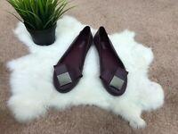 Melissa Woman Shoes Sz 5 Casual Flat Slip On Purple